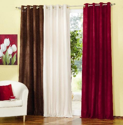 velours vorhang blickdicht 20334 ebay. Black Bedroom Furniture Sets. Home Design Ideas
