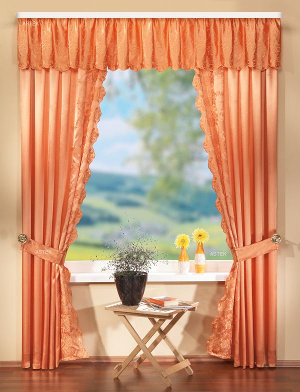 deko gardinen set mit stickerei 60022 ebay. Black Bedroom Furniture Sets. Home Design Ideas