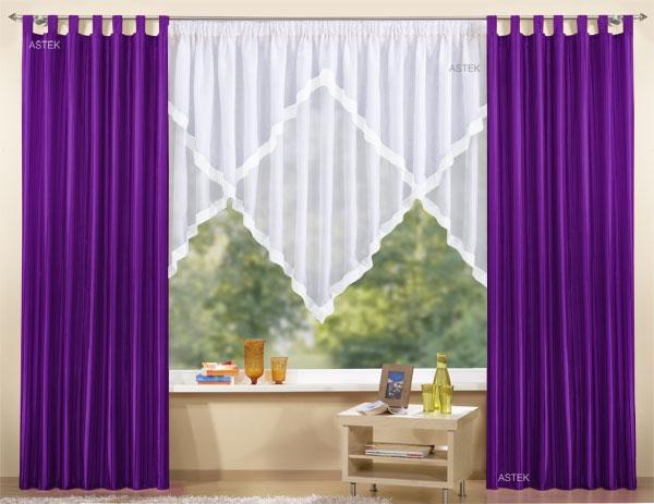 gardinen set 3 teile vorhang und kuvertstore 145x300 ebay. Black Bedroom Furniture Sets. Home Design Ideas
