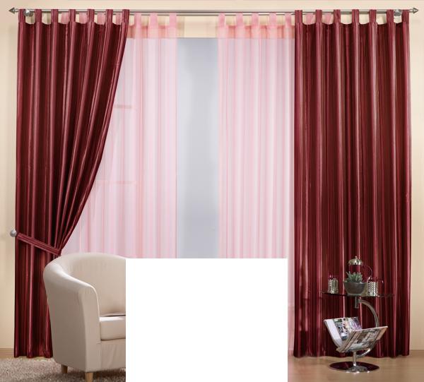 Set 4 teile vorhang gestreift und gardine farben 2 ebay - Gardine kinderzimmer transparent ...