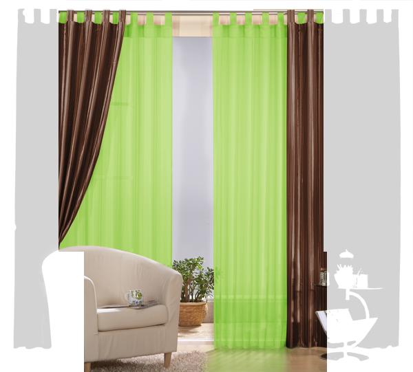 set 4 teile vorhang gestreift und gardine farben 1 ebay. Black Bedroom Furniture Sets. Home Design Ideas