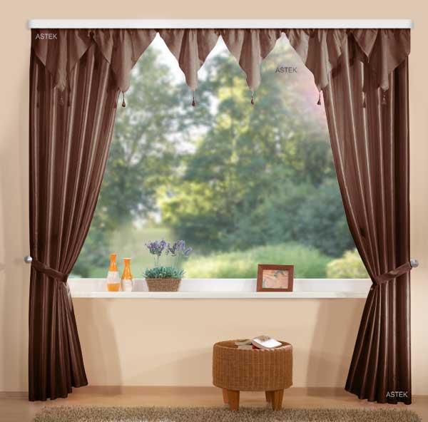 deko gardinen set spitzbogen 03936 ebay. Black Bedroom Furniture Sets. Home Design Ideas