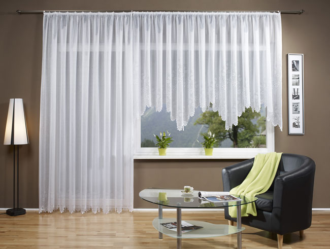 jacquard bogen store fertig gardine kr uselband 13112. Black Bedroom Furniture Sets. Home Design Ideas