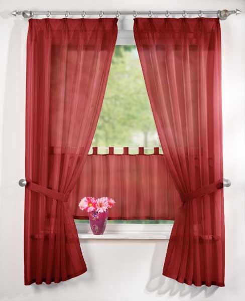 scheibengardine set seitenschals paneaux 18001 ebay. Black Bedroom Furniture Sets. Home Design Ideas