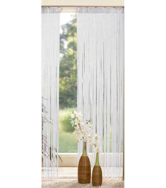 fadengardine 2 st ck 20303 wei 250x145 ebay. Black Bedroom Furniture Sets. Home Design Ideas