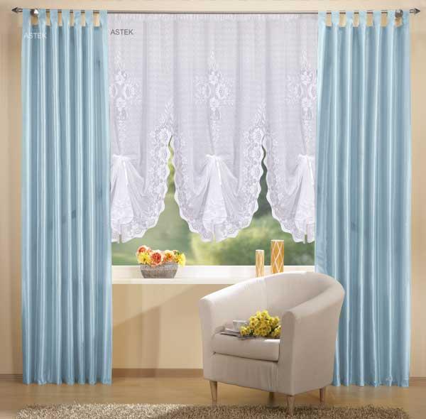 gardinen set deko schal und bogenstore 145 cm ebay. Black Bedroom Furniture Sets. Home Design Ideas