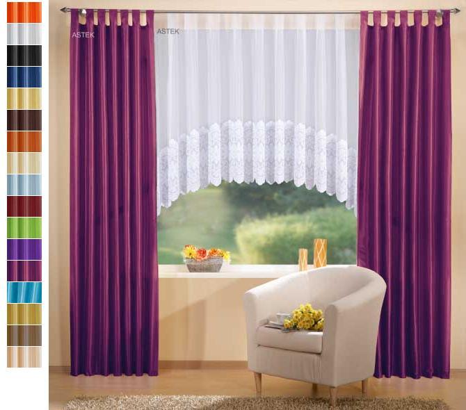 gardinen set 3 teile deko schal und c bogenstore eur 54 80 picclick de. Black Bedroom Furniture Sets. Home Design Ideas