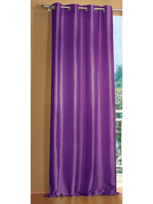 gardine taft vorhang mit sen blickdicht 20330 ebay. Black Bedroom Furniture Sets. Home Design Ideas
