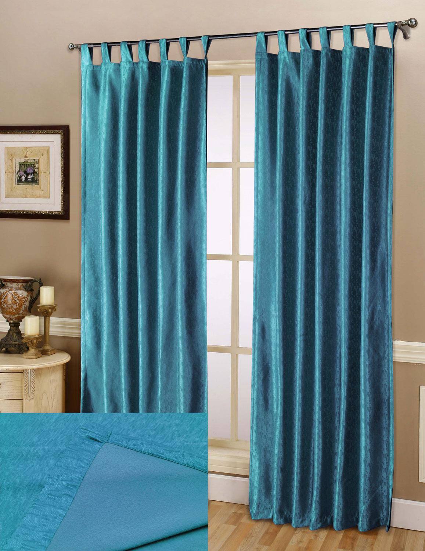 thermo gardine schlaufen vorhang polar fleece r cken matt. Black Bedroom Furniture Sets. Home Design Ideas