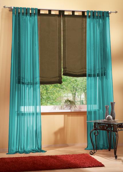 gardine set 61000 t rkis 245x140 61008 braun 160x100 ebay. Black Bedroom Furniture Sets. Home Design Ideas