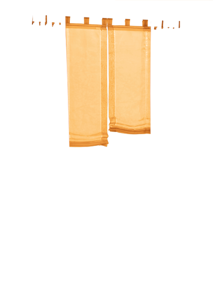 Set 4 teile gardine voile und raffrollo farben 2 ebay - Gardine kinderzimmer transparent ...