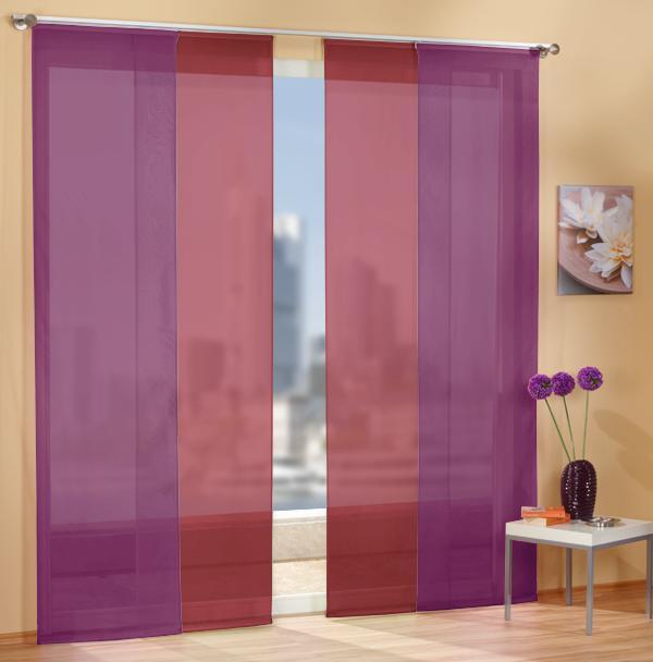 Set-4-Teile-Flaechenvorhang-transparent-Farben-1