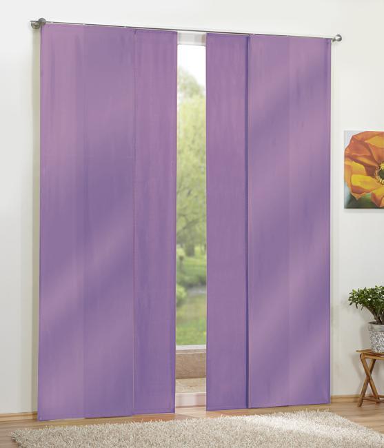 panneaux rideaux opaque 4 parties. Black Bedroom Furniture Sets. Home Design Ideas