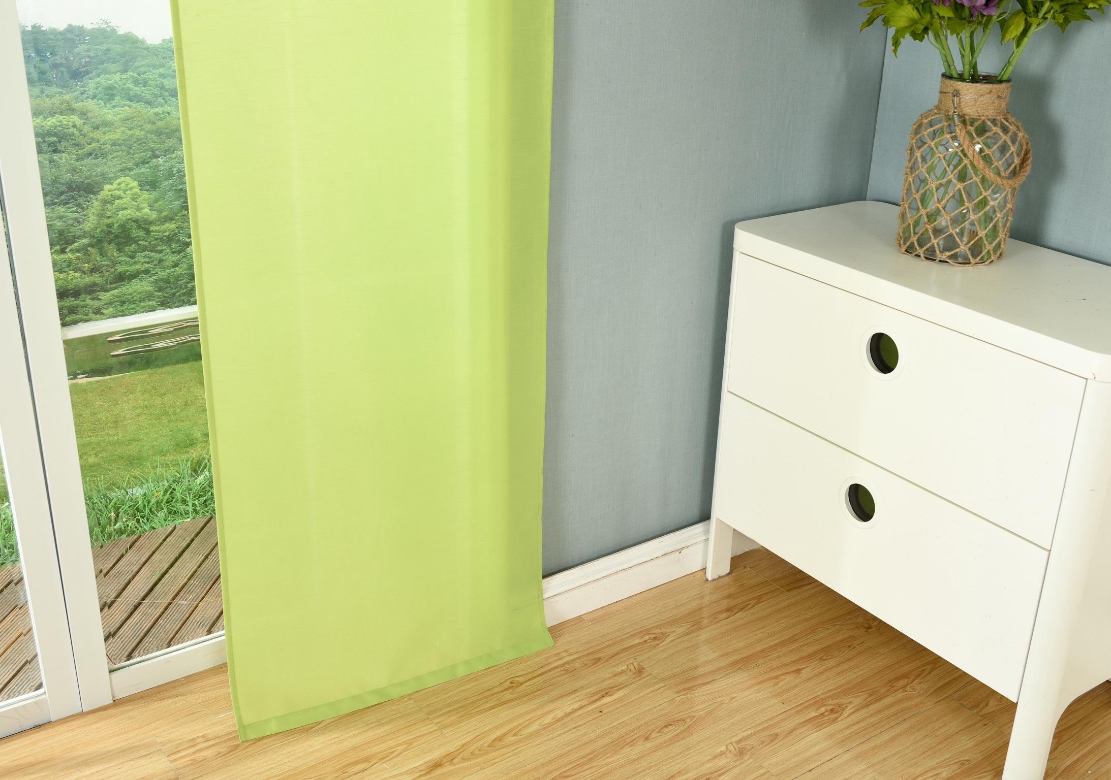 schiebegardine fl chenvorhang wildseide optik vorhang 245x60 cm 85620 ebay. Black Bedroom Furniture Sets. Home Design Ideas