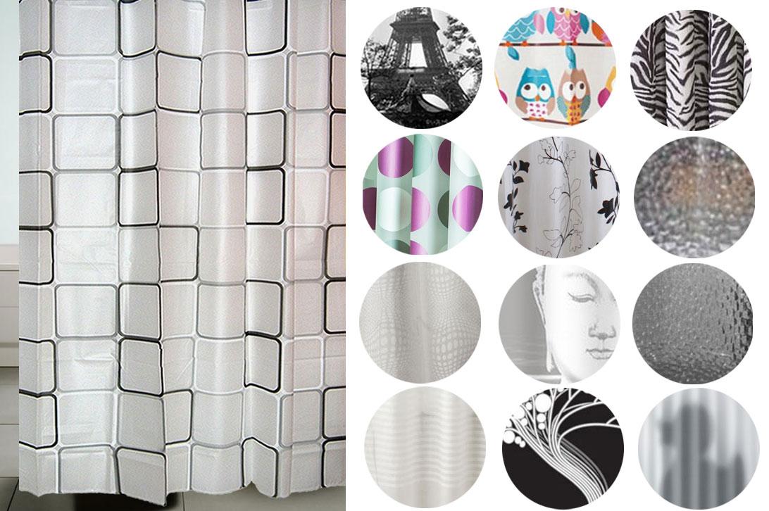duschvorhang eva badezimmer dusche vorhang ringe 180x180 eule ebay. Black Bedroom Furniture Sets. Home Design Ideas