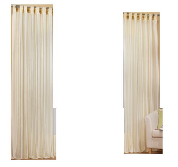 set 4 teile deko schal gardine taftbord re farben 2 ebay. Black Bedroom Furniture Sets. Home Design Ideas