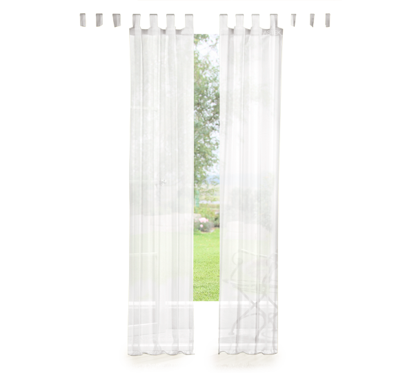 set 4 teile vorhang und gardine unifarben farben 1 ebay. Black Bedroom Furniture Sets. Home Design Ideas