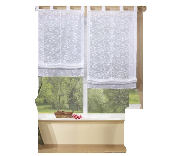 Set 4 teile vorhang und jacquard raffrollos ebay - Gardine kinderzimmer transparent ...