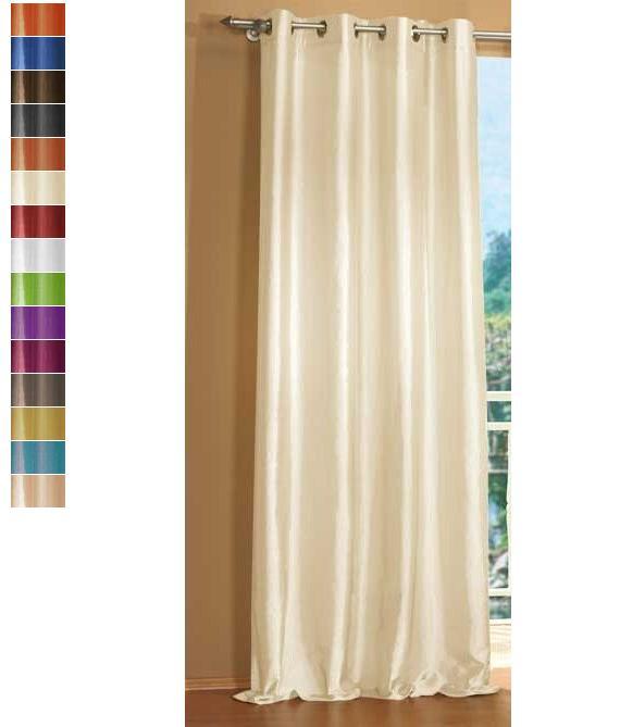 vorhang blickdicht schal mit sen aus microsatin matt 20405. Black Bedroom Furniture Sets. Home Design Ideas