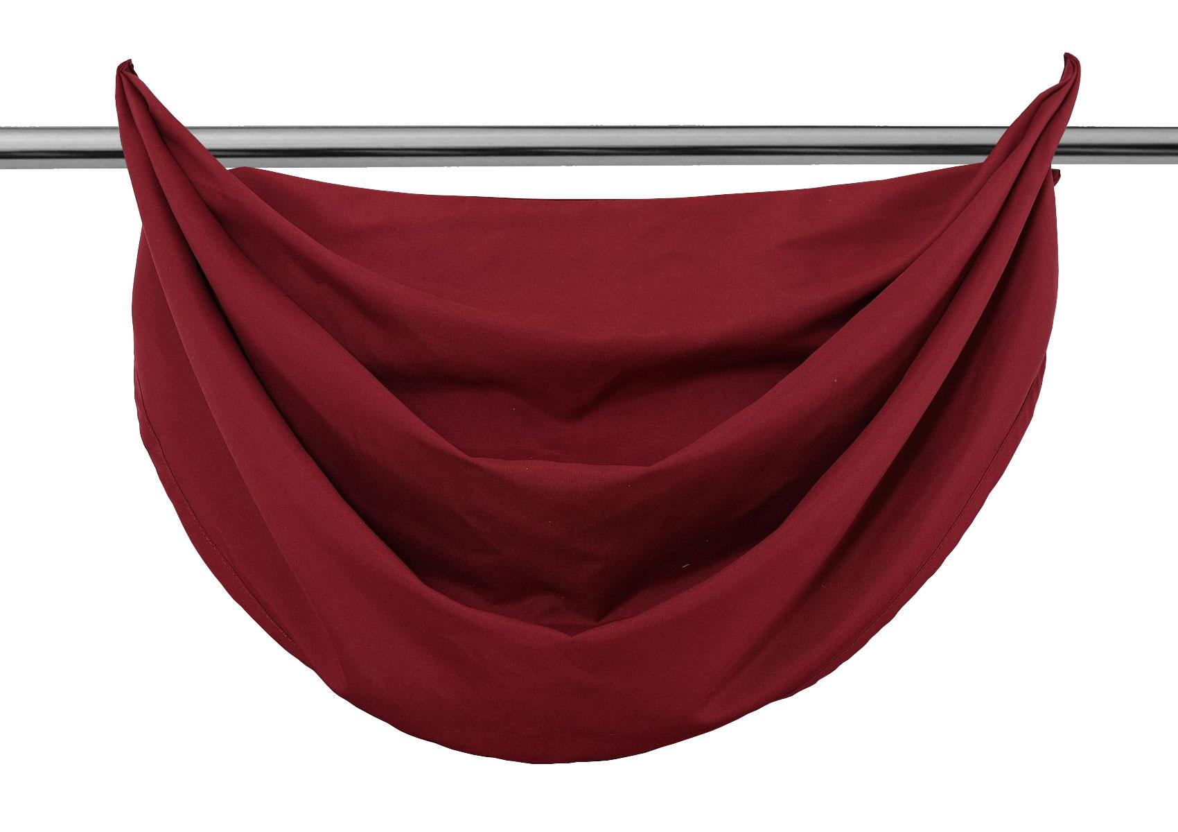 vorhang blickdicht schal mit sen aus microsatin matt. Black Bedroom Furniture Sets. Home Design Ideas