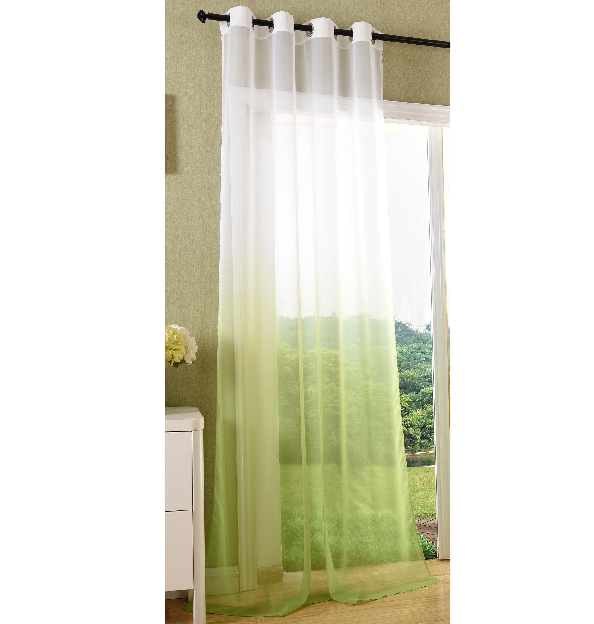 Brilliant Vorhänge Mit ösen Galerie Von Vorhang-transparent-schal-osen-gardine-voile-farbverlauf