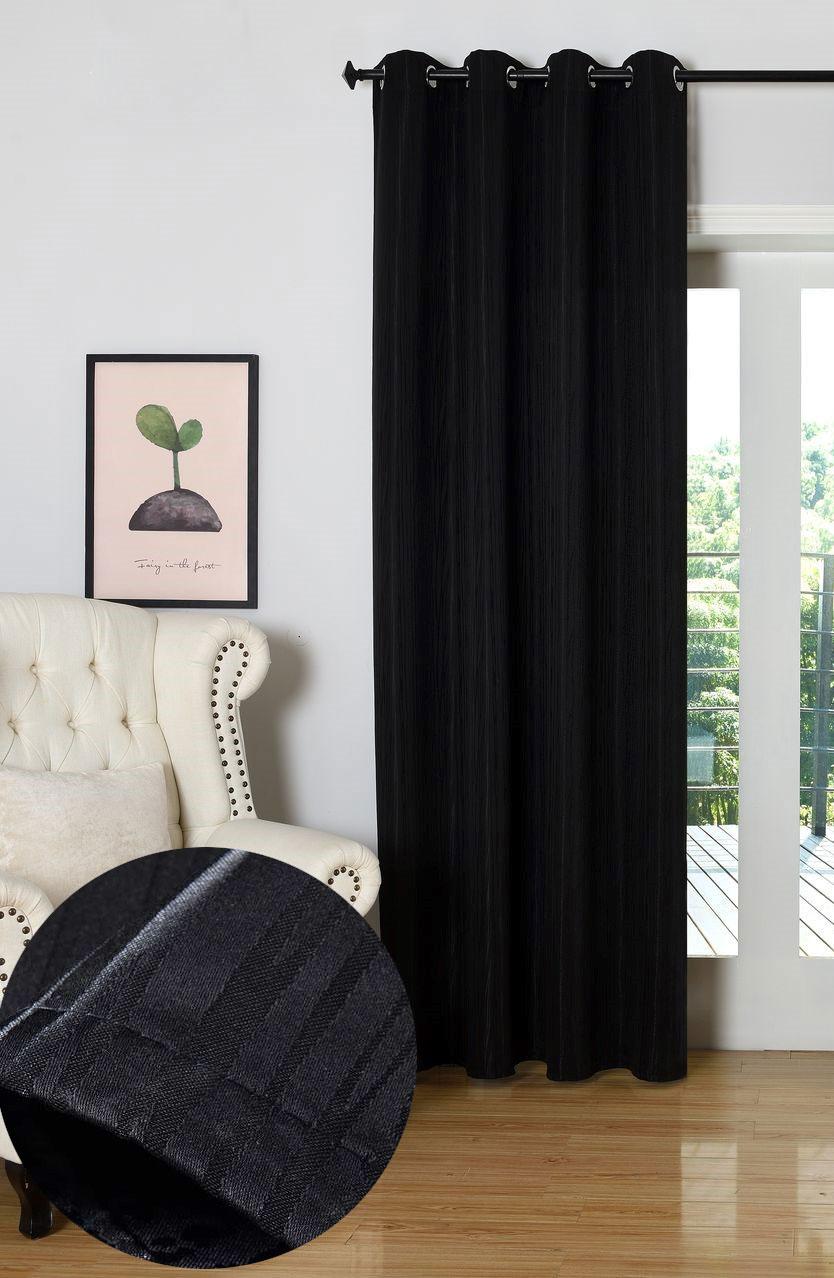 gardine vorhang jacquard schal blickdicht mit feiner musterung sen tivoli 204 ebay. Black Bedroom Furniture Sets. Home Design Ideas
