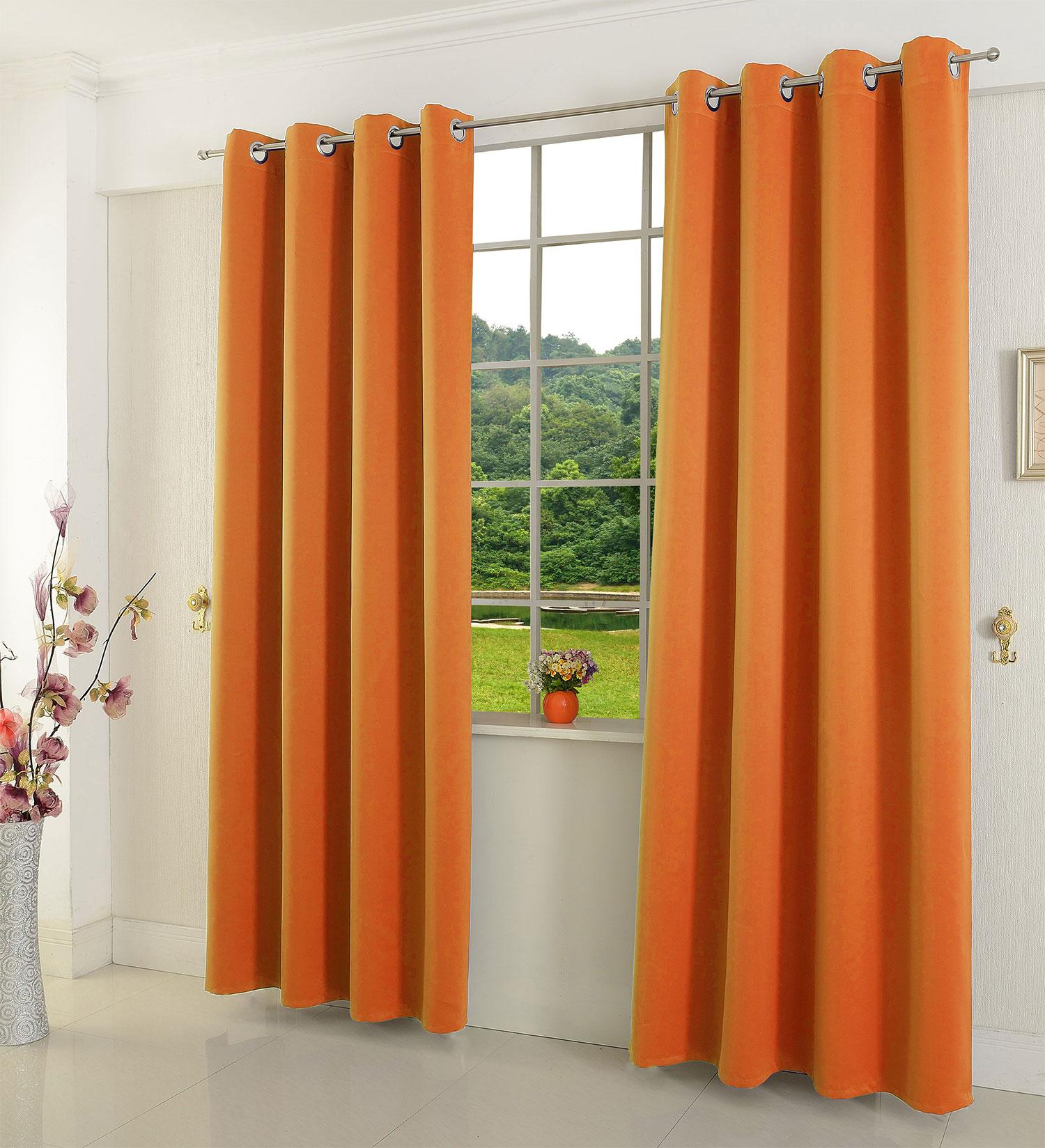 verdunkelungsvorhag mit sen matte uni farben blickdicht blackout 20600 ebay. Black Bedroom Furniture Sets. Home Design Ideas