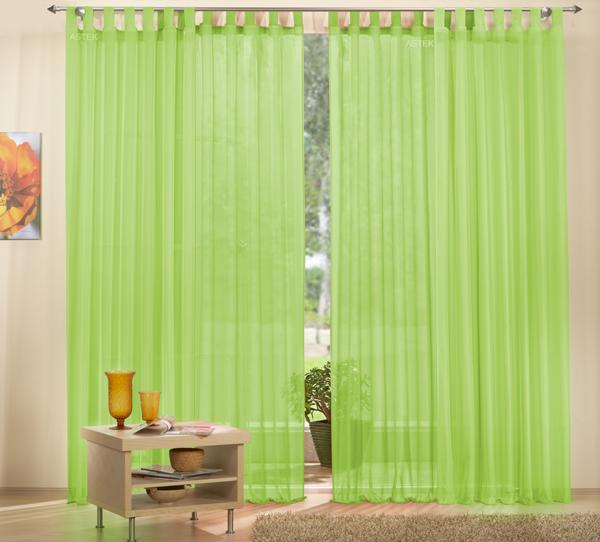 Set 4 teile gardine unifarben transparent farben 2 ebay - Gardine kinderzimmer transparent ...