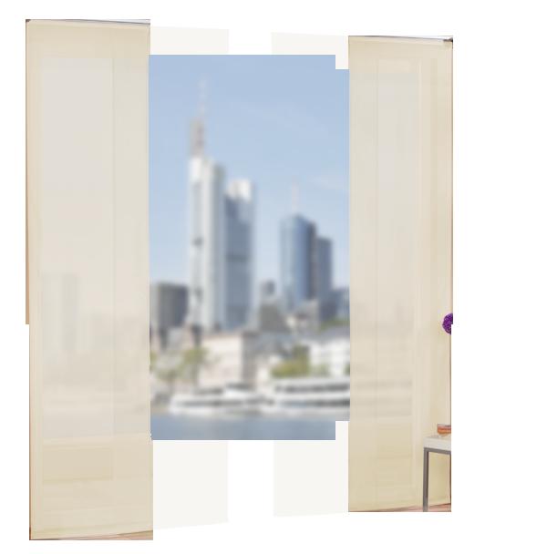 Set 4 teile fl chenvorhang transparent farben 2 ebay - Gardine kinderzimmer transparent ...