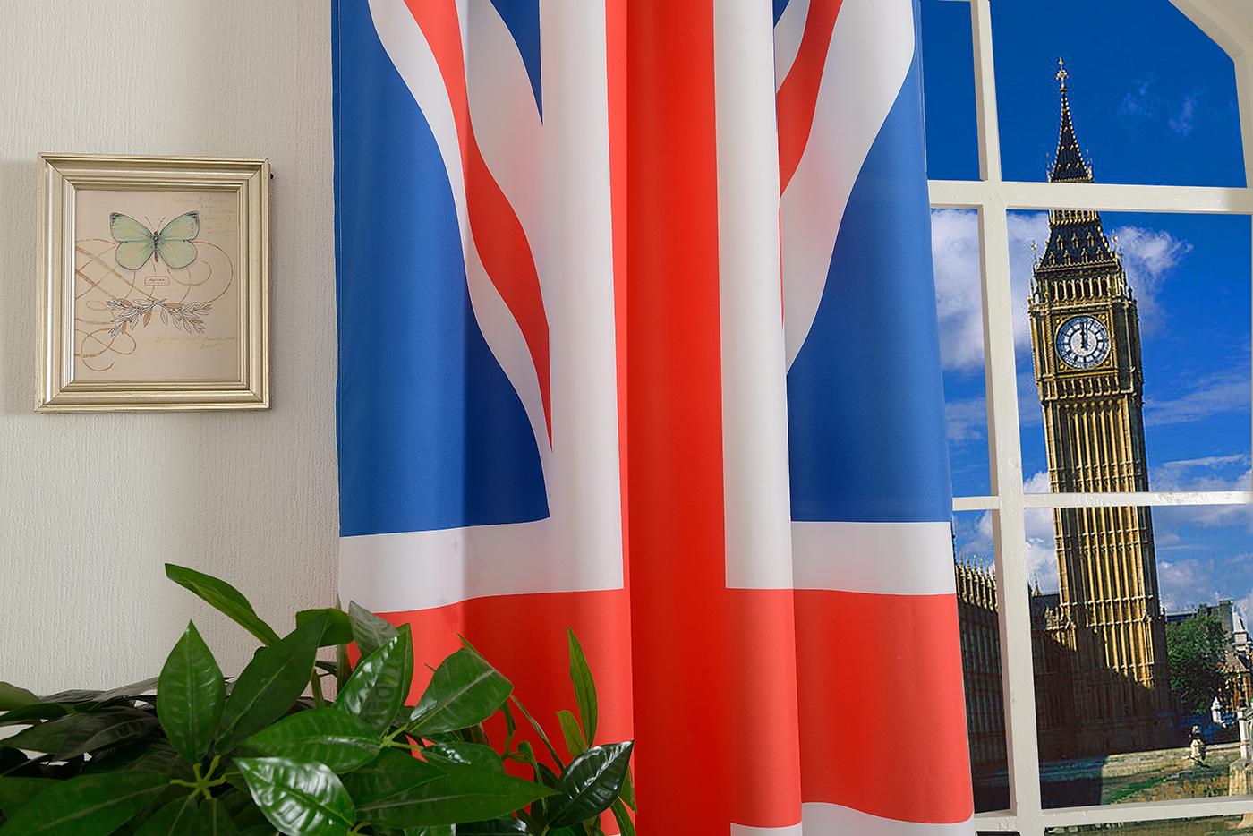 gardine vorhang senschal england flagge 245x140 fu ball wm 2014 ebay. Black Bedroom Furniture Sets. Home Design Ideas